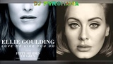 Ellie Goulding &amp Adele Hello, Love Me Like You Do Mashup ( Clipe Official )