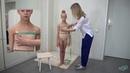 Снятие мерок с фигуры применяемые при построении купальника с юбкой