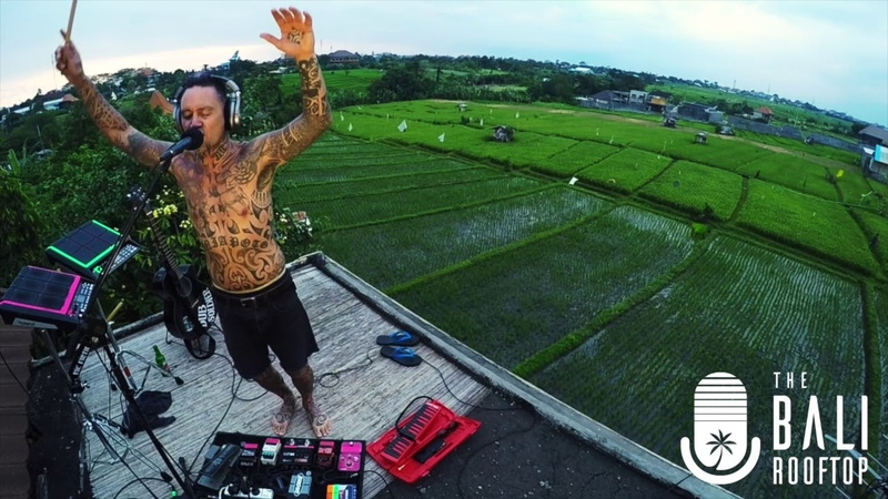 Tiki Taane Live on The Bali Roof Top