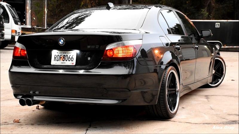 Bmw E60 550i with RPI Exhaust | Deep V8 sound!