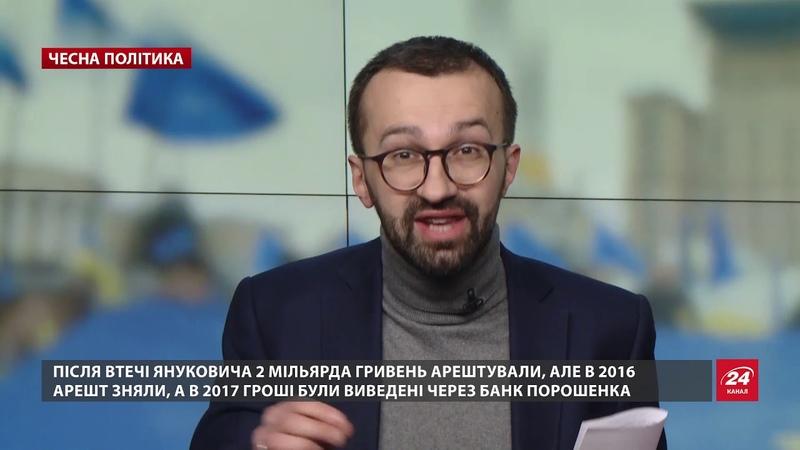 Активи Януковича поступово стають власністю Порошен