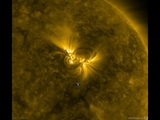 Extreme Ultraviolet View of Solar Active Region