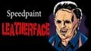 [ SAI ] Speedpaint - Leatherface / Кожаное лицо
