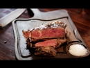 Стейк Стриплойн из уругвайской мраморной говядины