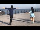 Девушка Очень Красиво Танцует С Парнями В Баку 2018 Лезгинка ALISHKA MELEK ELVIN ELXAN Белый Город