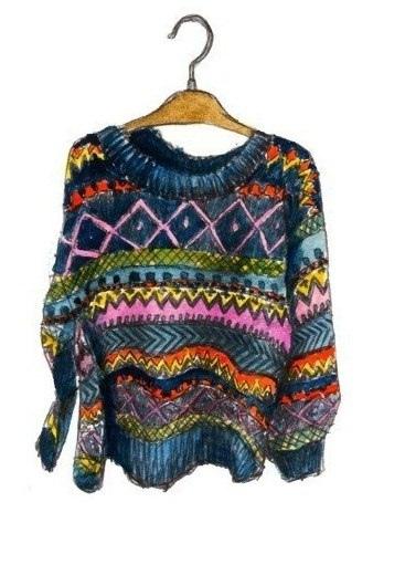 а душа — это свитер, не важно какой, от хвалёного boss-a, а, может, китайский, или просто старушка умелой рукой захотела опробовать новую вязку. он способен согреть и тебя, и родных даже в самый