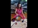 Утренняя медитация с тибетской поющей чашей