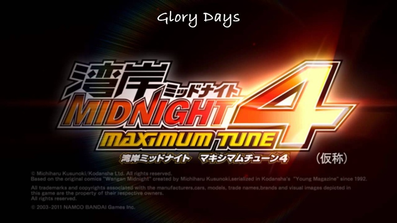 Glory Days - Wangan Midnight Maximum Tune 4 Soundtrack