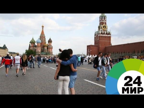 Такого не было с XIX века воздух в Москве рекордно нагрелся - МИР 24