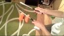 4 Triki z Diabolo - Kocia kołyska - Jak zrobić Cat's Cradle z diabolo? 3 perspektywy, slow-motion