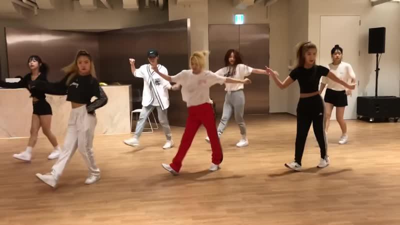 [CLIP] Hyoyeon - Punk Right Now (Dance Practice ver 02)