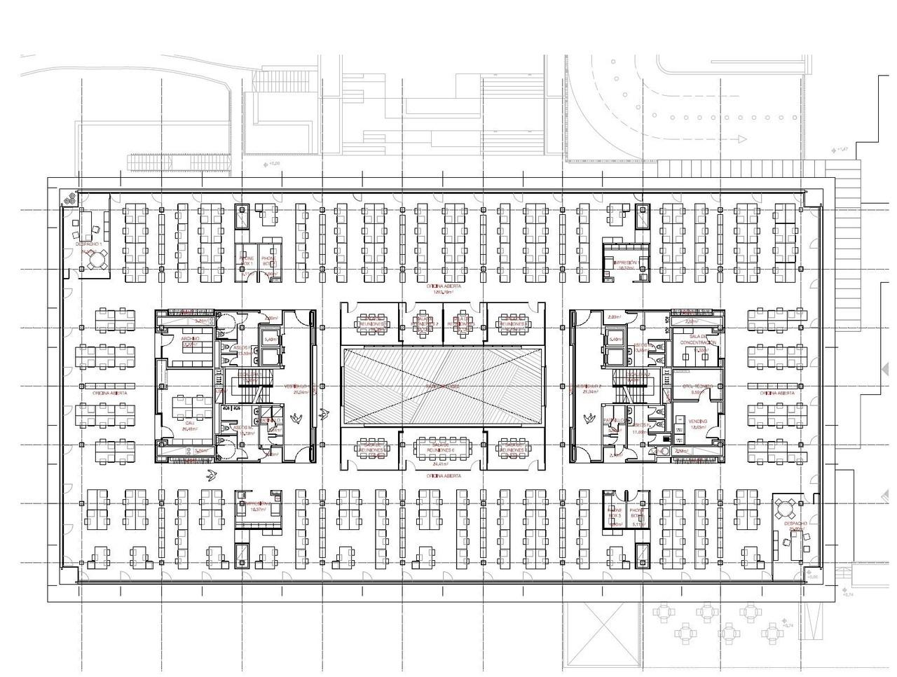 Штаб-квартира ОНО / ACXT Arquitectos