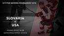 U17 5 Nations Tournament 2018 | Slovakia – USA