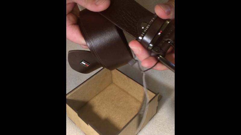 Tommy Hilfiger джинсовый ремень 40 мм.Видео-обзор