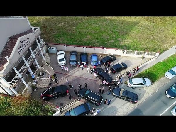 NUNTĂ ROMI NEGUȘ FELI-NAȘUL MIRCEA NEBUNU SOSEȘTE CU ALAIUL LA CASA ANTIC-BĂILE FELIX-2018