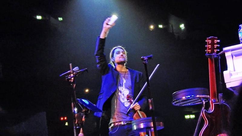 David Garrett mit seiner Band 'Fix you' Coldplay