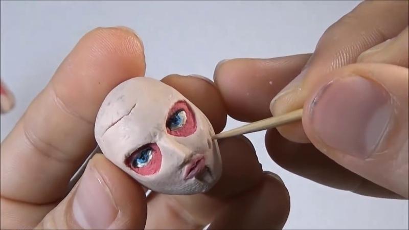 Como hacer la Titan Hembra de Plastilina Shingeki no kyojin How to Make Female Titan in clay