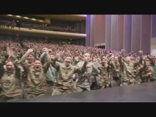 West Point cadets presenting their new song. This is fire!  Премьера новой песни курсанта Военной академии США West Point.