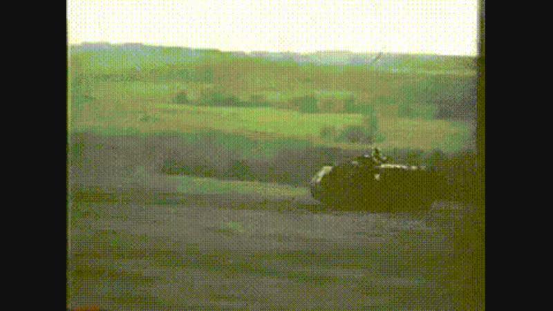 Американский самоходный огнемёт времен войны во Вьетнаме.