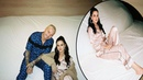 Selena Gomez is seen in silk pajamas as she promotes single I Can't Get Enough