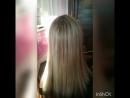 Кератиновое выпрямление и реконструкция волос для Алеси