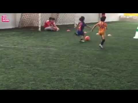 5-year-old Arat is a future football superstar ❤️⚽️