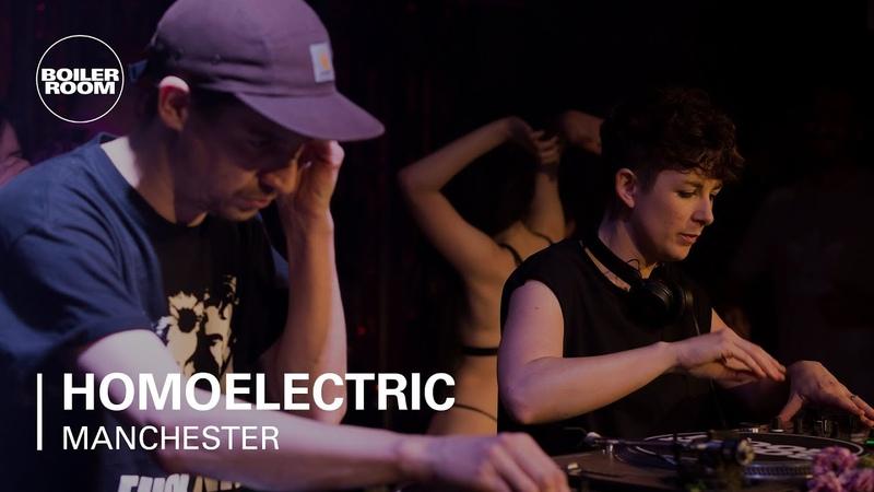 Homoelectric Techno House Mix   Boiler Room Fleshback Manchester