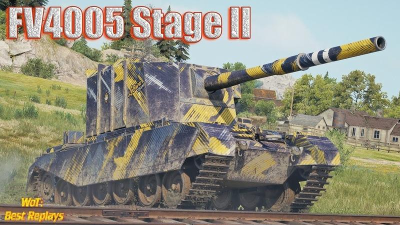 FV4005 Stage II НУБочка , Скилл и Везение * Тихий берег
