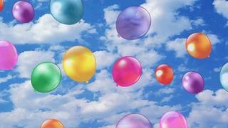 Воздушные шарики Футаж с воздушными шариками