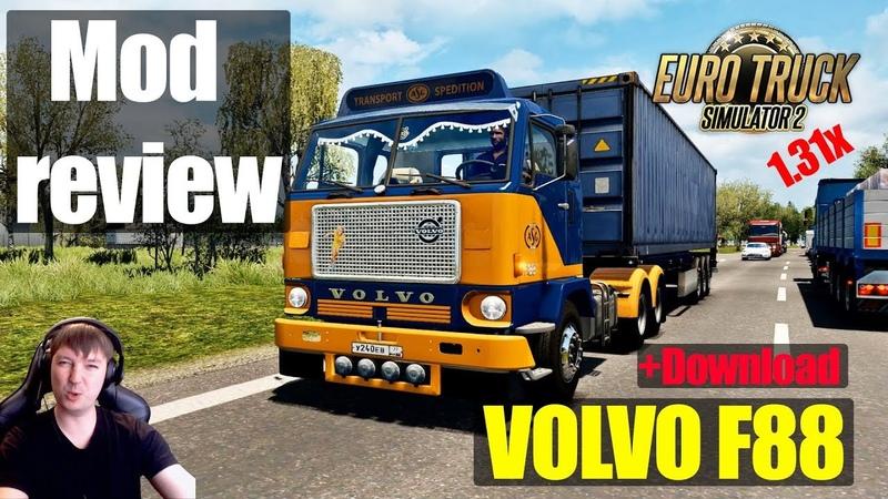 ETS2 1.31 MODS|VOLVO F88|Обзор Модов Euro Truck Simulator 2