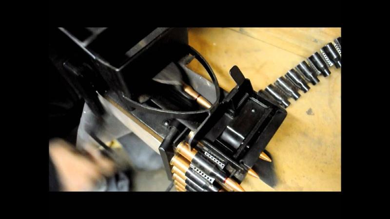 Using a Russian PKM Belt Loader