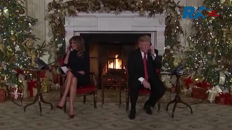Президент посмеялся над верой семилетнего ребенка в Санта-Клауса