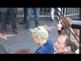 Pom Klementieff and Karen Gillan were spotted at Zoe Saldana Walk of Fame ceremo