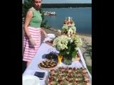 Свадебный банкет на 50 человек в @ gorizonpatio?______Это была очень красивая свадьба в замечательном месте? Счастья молодожён