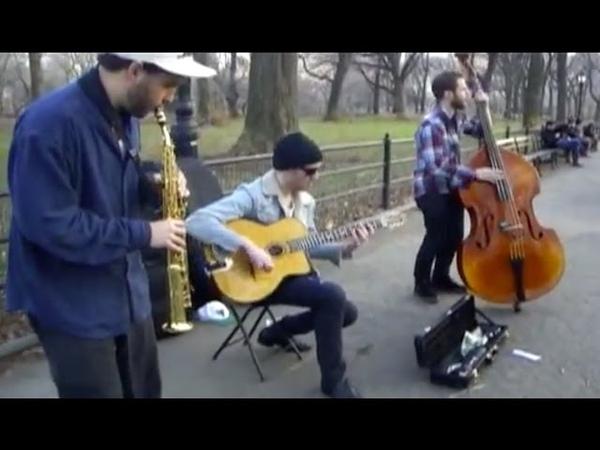 Soprano Saxophone, Guitar Double Bass Trio Jazz Performance: Swing 42
