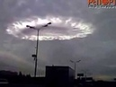 Загадочный круг в небе над Москвой Gateway to God or to Hell Strange