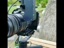 Incredible setup❗️GH5 Rokinon 35mm T-1.5 with SLR anamorphic Adapter on the Zhiyun_crane 2. 👏