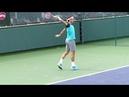 Roger Federer Backhand Slow Motion Indian Wells ATP HD