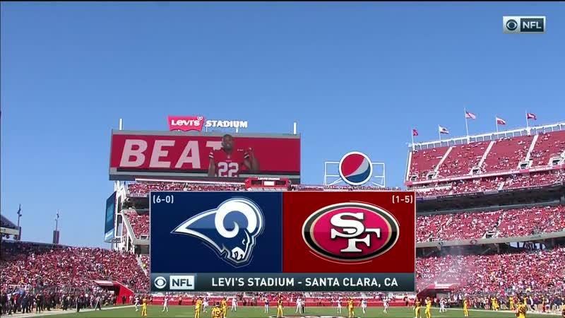 NFL 2018-2019 / Week 07 / Los Angeles Rams - San Francisco 49ers / EN