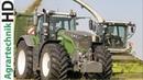 FENDT 1050 Traktoren v Lohnunternehmen AGRARSERVICE MV Grassilage