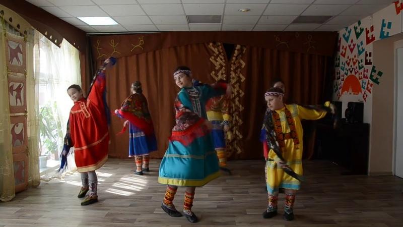 1221 Фольклорный коллектив Лылынг Союм г Ханты Мансийск хантыйский танец Ма МувемМоя Земля