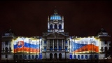 Projection mapping National Museum Prague