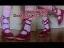 DIY Béatrice - Kanna - Hina Ichigo Loli shoes Cosplay tutorial