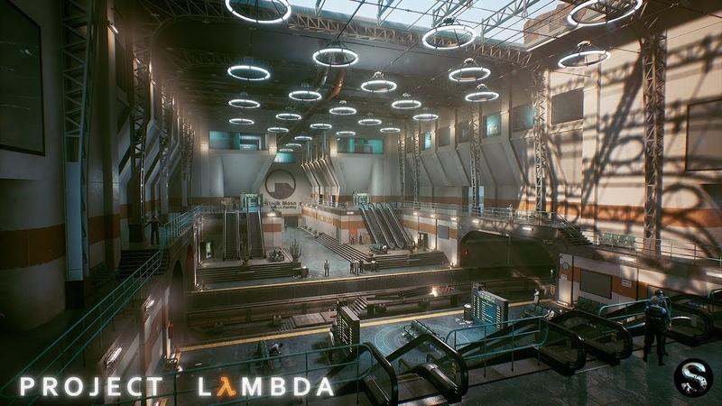 [ Gameplay ] Project Lambda ( Half-Life remake )