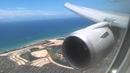 Continental 767 400 Landing Honolulu HD