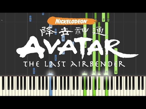 Avatar The Last Airbender - Piano Medley (Synthesia)