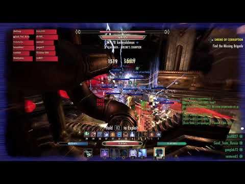вет Halls Of Fabrication 3rd boss Archcustodian Soulgem Guild Run