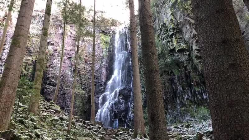 Burgbach Wasserfall Bad Rippoldsau Märchen Paradies
