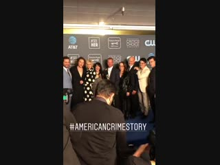 The acs: versace cast attending the ccas — (🎥: mariel_turner)