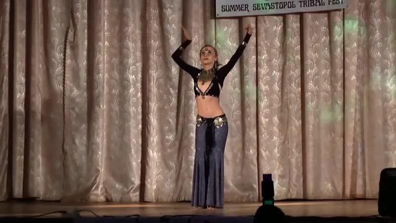Ольга Нессонова @ Гала-шоу 1ого международного трайбл-фестиваля в Севастополе 2013